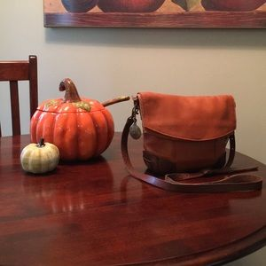"Will Leather ""Hazel"" Deerskin Crossbody Handbag"